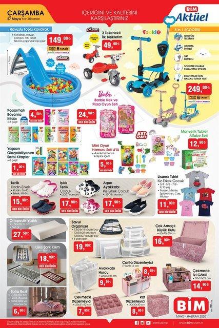 BİM A101 aktüel ürünler kataloğu! 27 - 28 Mayıs 2020 BİM A101 katalog ürünleri