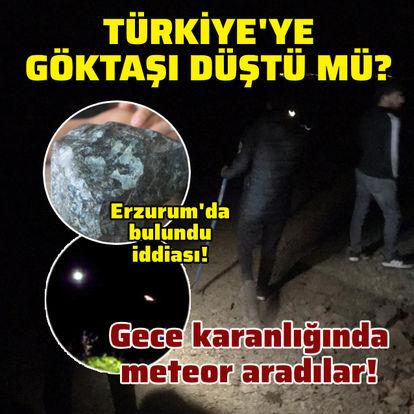 Türkiye'ye göktaşı düştü mü?