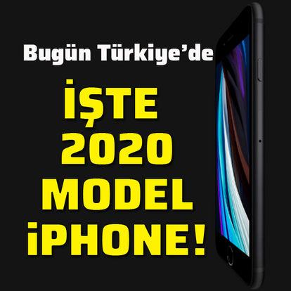 2020 model iPhone Türkiye'de!