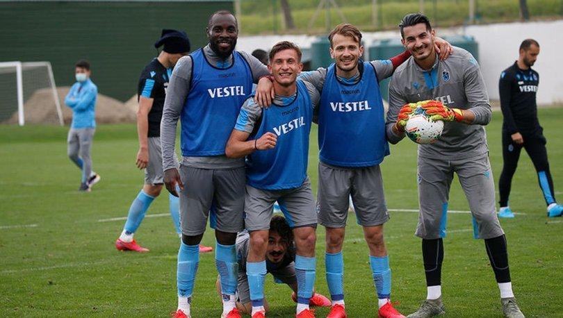 Trabzonspor, Göztepe maçı hazırlıklarını sürdürüyor