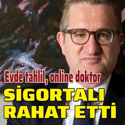 Evde kalana online doktor, evde tahlil
