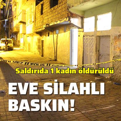 Diyarbakır'da silahlı ev baskını: 1 ölü