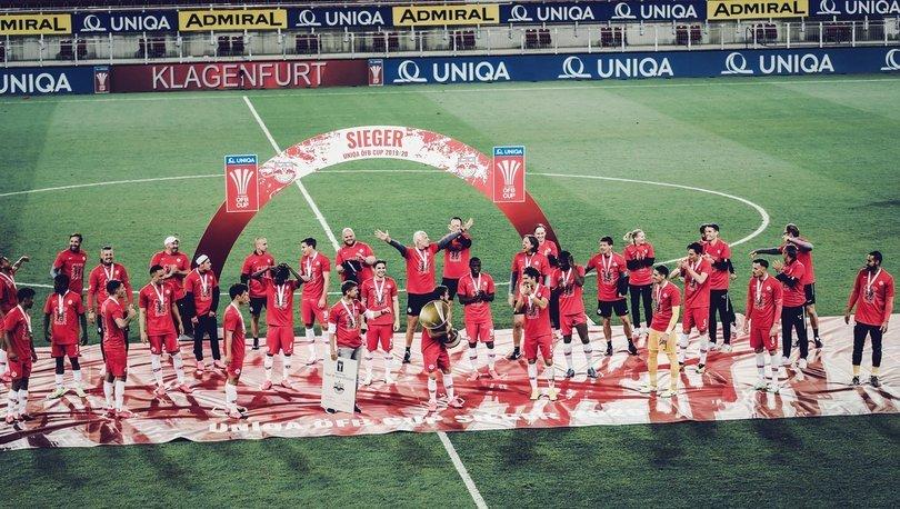 Salzburg kupayı kazandı