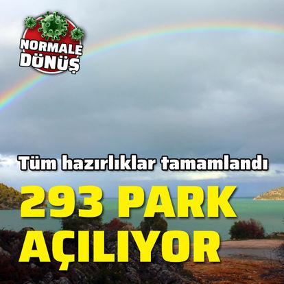 293 park yeniden açılıyor
