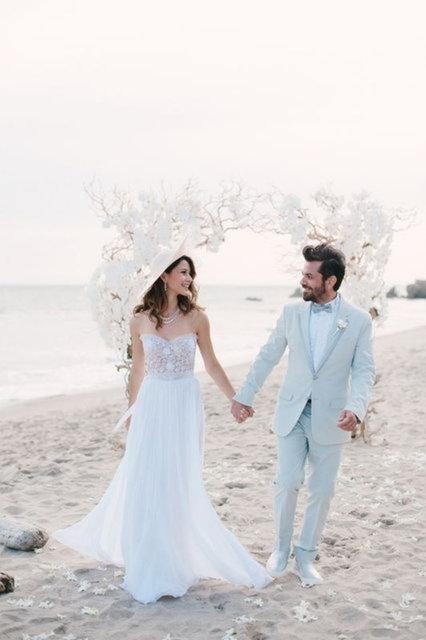 Beren Saat'ten eşi Kenan Doğulu'ya: 'Beceremediğimiz evlilik olsun' - Magazin haberleri