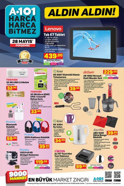 A101 1 Haziran 2020 Aktüel ürünler kataloğu satışta! A101'de bu hafta indirimli neler var?