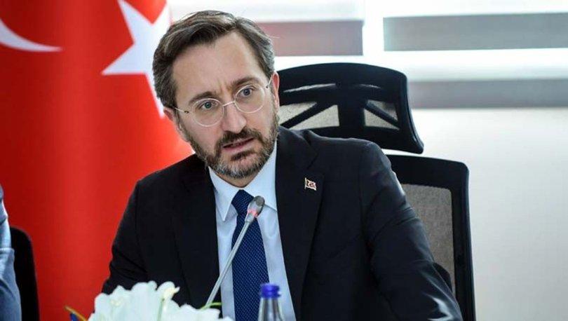 İletişim Başkanı Fahrettin Altun: Bu üzücü olayın takipçisi olacağız