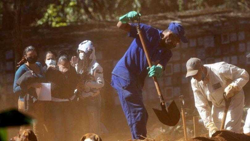 SON DAKİKA: Dünyada Kovid-19 ölümleri 370 bini geçti - HABERLER