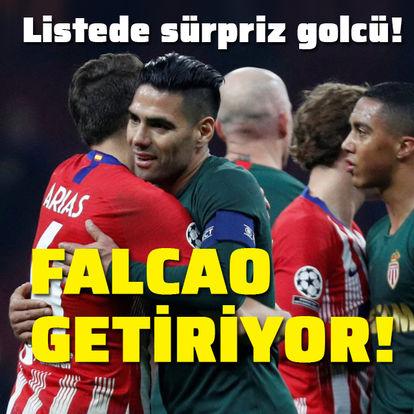 Yeni transferi Falcao getiriyor!