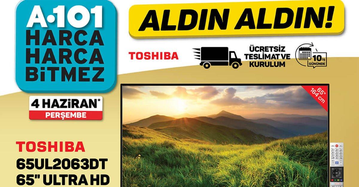 A101 4 Haziran haftanın indirimli ürünler