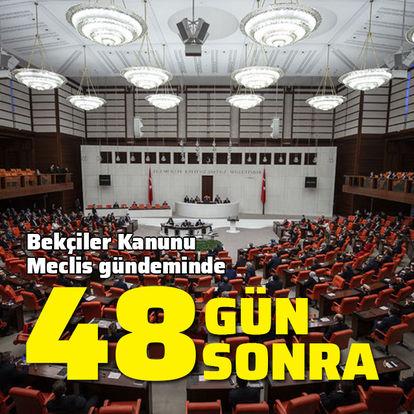 Meclis 48 gün sonra toplanıyor