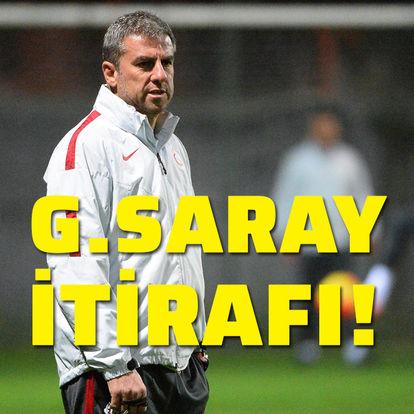 Hamzaoğlu'ndan Galatasaray itirafı