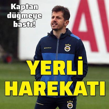 Fenerbahçe'de yerli harekatı