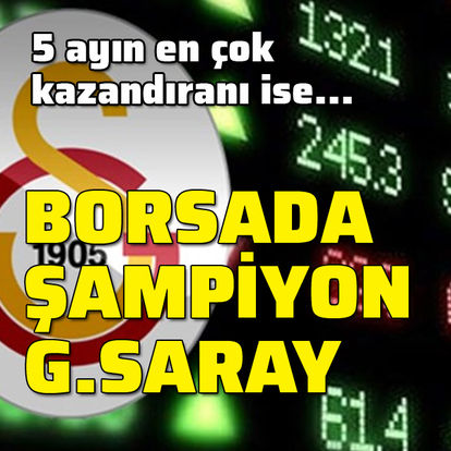 Mayıs şampiyonu Galatasaray