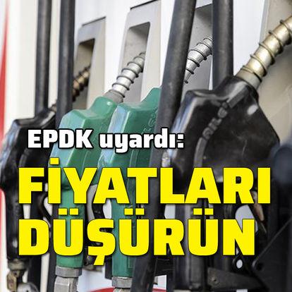 EPDK'dan, akaryakıt şirketlerine fiyat uyarısı