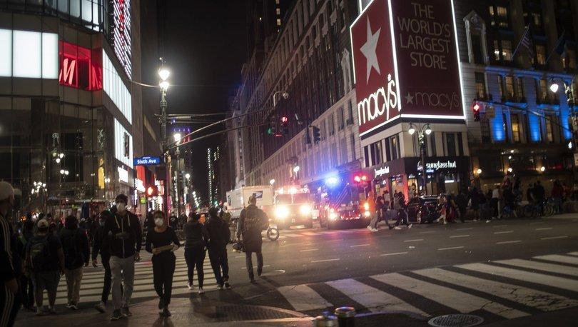 New York'ta yağmalamalar nedeniyle 700 kişi gözaltına alındı - Haberler