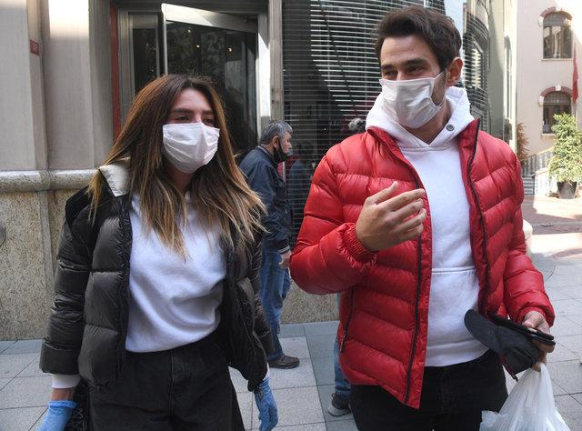 Cem Belevi-Zehra Yılmaz çifti alışverişte - Magazin haberleri