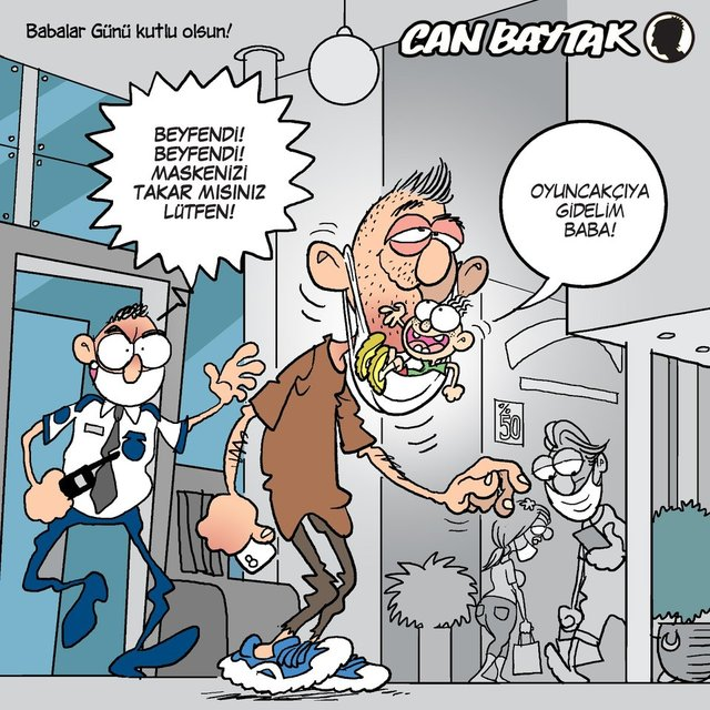 Can Baytak karikatürleri (Haziran 2020)