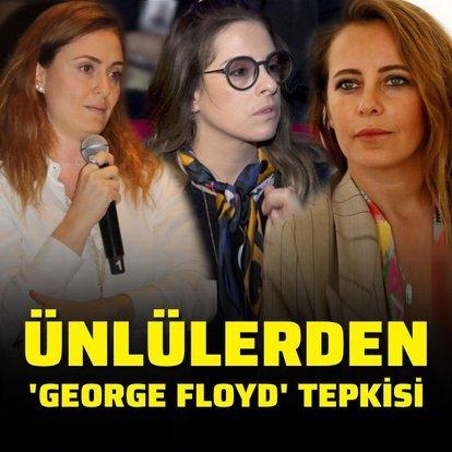 Ünlülerden 'George Floyd' tepkisi