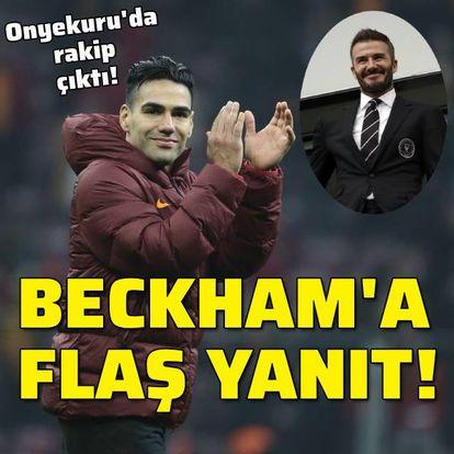 Beckham'a ret, Aslan'a evet!