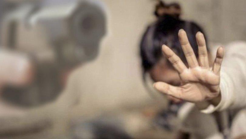 trabzon eşinin kafasına silah dayadı