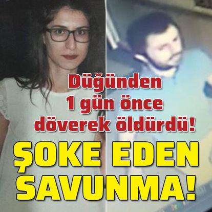 Nişanlı cinayetinde şaşırtan savunma!