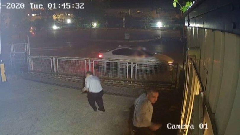 istanbul'da kendilerini uyaran güvenlik görevlisini vurdular