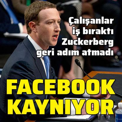 Facebook kaynıyor!