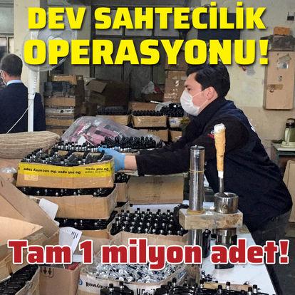 İstanbul'da dev sahtecilik operasyonu!