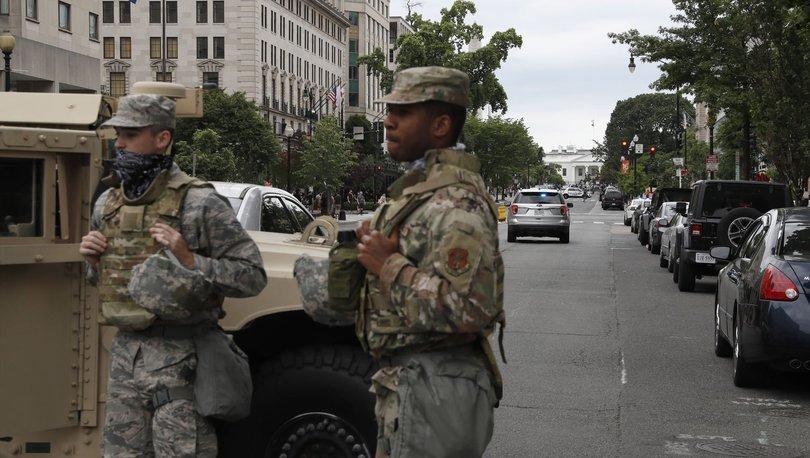Pentagon, Washington yakınlarına konuşlandırdığı kuvvetleri geri çekiyor - Haberler