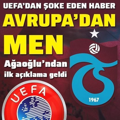 Trabzonspor'a Avrupa'dan 1 yıl men!