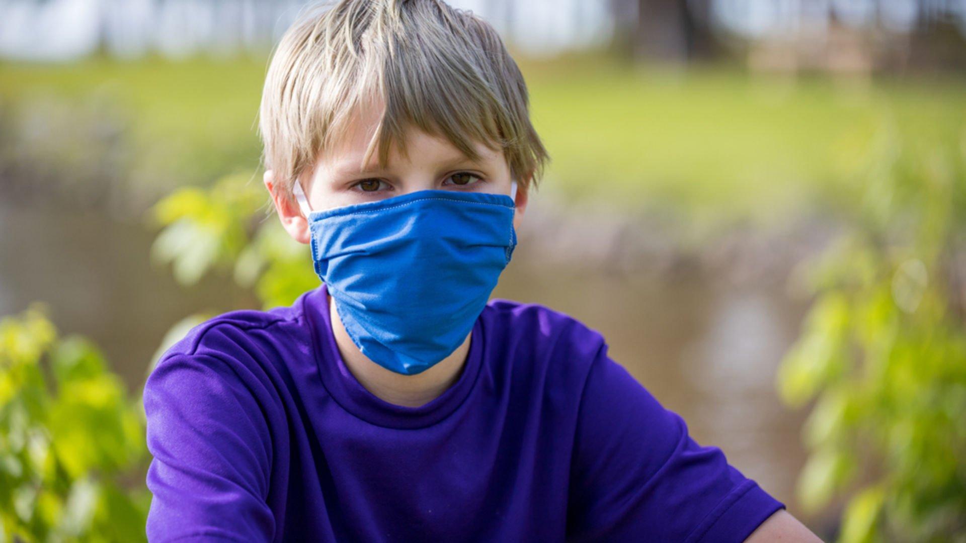 Çocuğunuz maskeye alıştı mı?