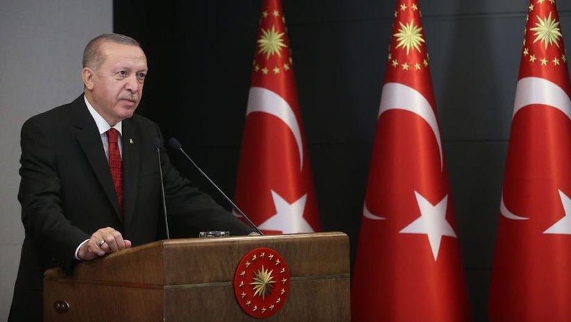 Cumhurbaşkanı Erdoğan'dan 'küresel dayanışma' mesajı