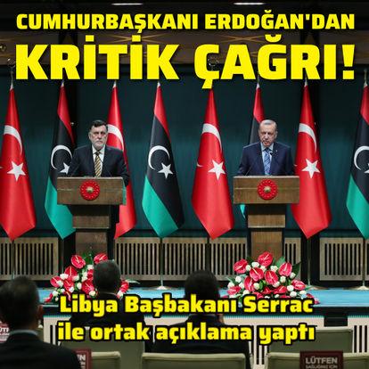 Cumhurbaşkanı Erdoğan'dan kritik çağrı