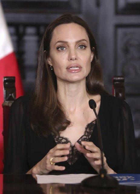 Angelina Jolie'den ırkçılığa karşı mücadeleye 200 bin dolarlık bağış - Magazin haberleri