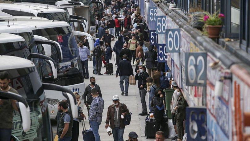 Karayollarında yolcu sayısı patladı