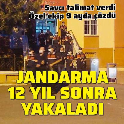 Jandarma 12 yıl sonra cinayeti çözdü