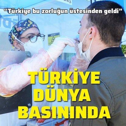 Türkiye dünya basınında!