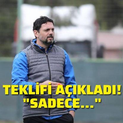 """""""Sadece Alanyaspor'dan teklif aldım"""""""