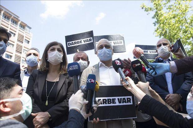 """HDP'den """"milletvekilliğinin düşürülmesi"""" eylemi"""