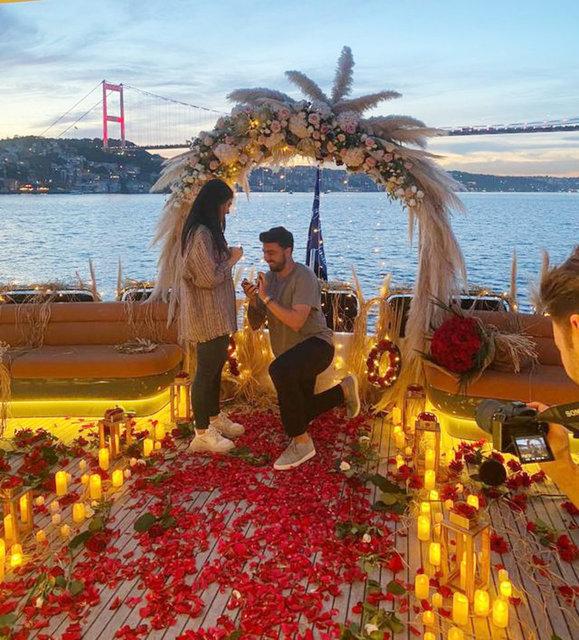 Ozan Tufan'dan sevgilisi Rojin Haspolat'a evlilik teklifi - Magazin haberleri