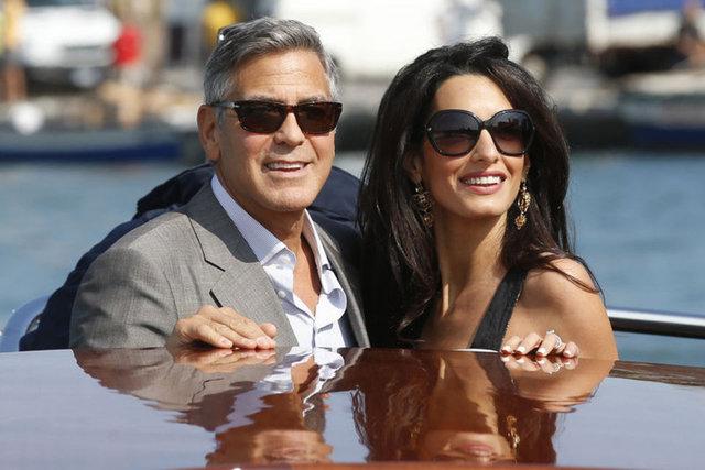 Amal ve George Clooney'den Suriyeli çocuklar için okul - Magazin haberleri