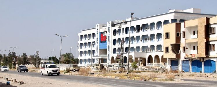 Libya Ordusu Sirte'de ilerliyor