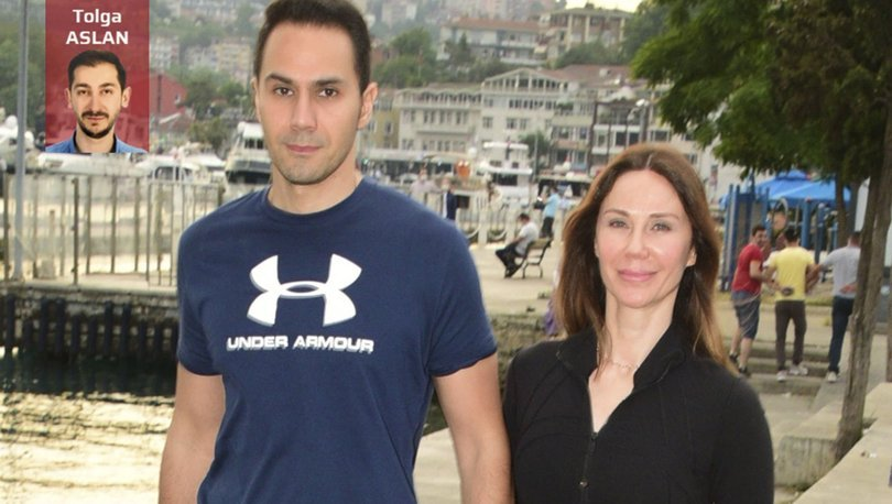 Demet Şener ve eşi Cenk Küpeli'nin önlemsiz yürüyüşü - Magazin haberleri