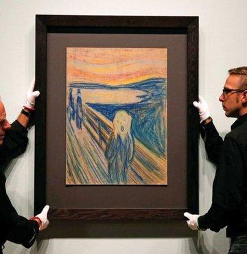 Rus milyarder Roman Abramoviç, Norveçli ressam Edvard Munch'un dünyaca ünlü 'Çığlık' tablosunu 120 milyon dolara satın aldı.