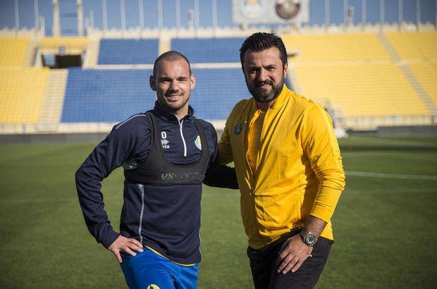 """""""Sneijder'le görüşüyoruz"""""""