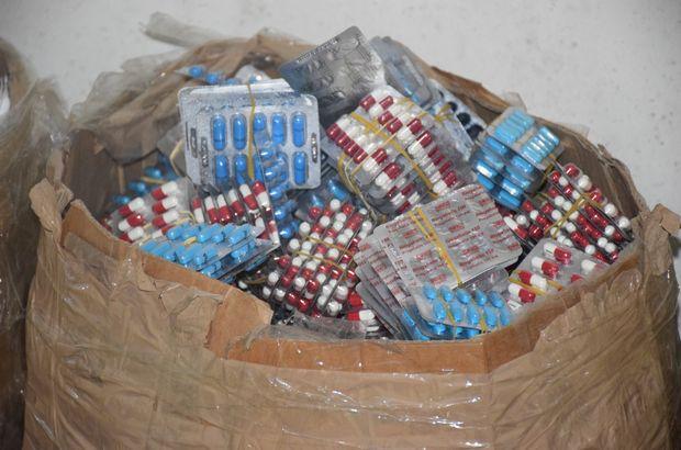 MSB: Sınırda çok sayıda uyuşturucu hap ele geçirildi