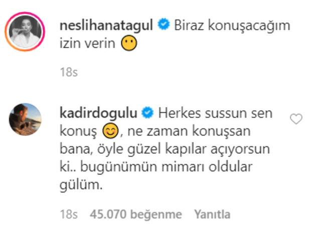 Neslihan Atagül'ün eşi Kadir Doğulu aşka geldi - Magazin haberleri