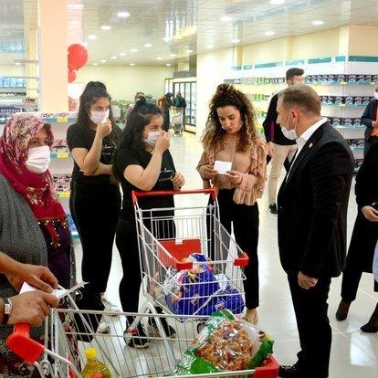 Son dakika haberler... Gaziantep'te 'market içi yoğunluk tespit sistemi' uygulanacak