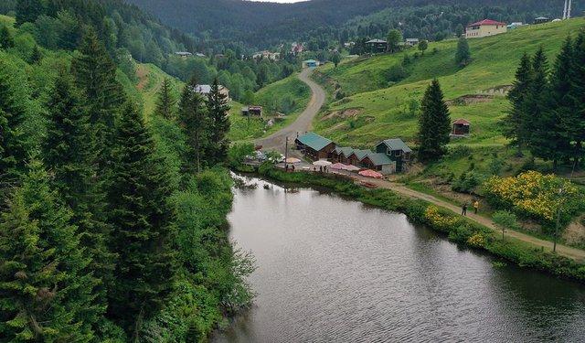 Doğu Karadeniz'in 'Balıklıgöl'ü doğaseverlerin rotasında